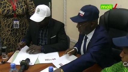 Reportage : Signature de partenariat entre SAMA Money et Nyèsigiso