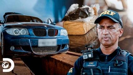 Casal e filha são detidos por porte de droga   Operação Fronteira: América do Sul   Discovery Brasil
