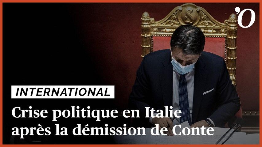 Démission de Giuseppe Conte: ce qu'il faut savoir sur la crise politique qui frappe l'Italie