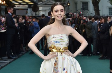 Lily Collins used to let 'dark thoughts' dictate her life