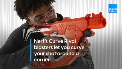 Nerf's new Rival Curve blasters can shoot around corners