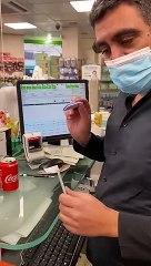 [Insolite]  Un test rapide antigène Covid-19 effectué avec du Coca cola se révèle positif - Regardez