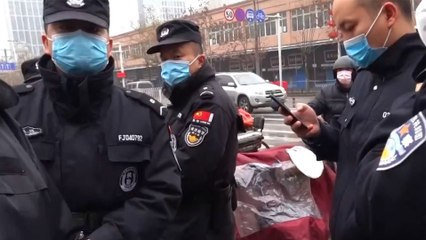 Des images inédites du début de la pandémie à Wuhan