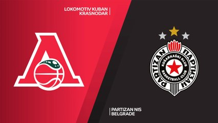 7Days EuroCup Highlights Top 16, Round 3: Lokomotiv 74-67 Partizan