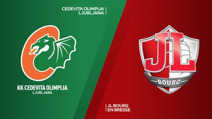 7Days EuroCup Highlights Top 16, Round 3: Olimpija 94-91 Bourg