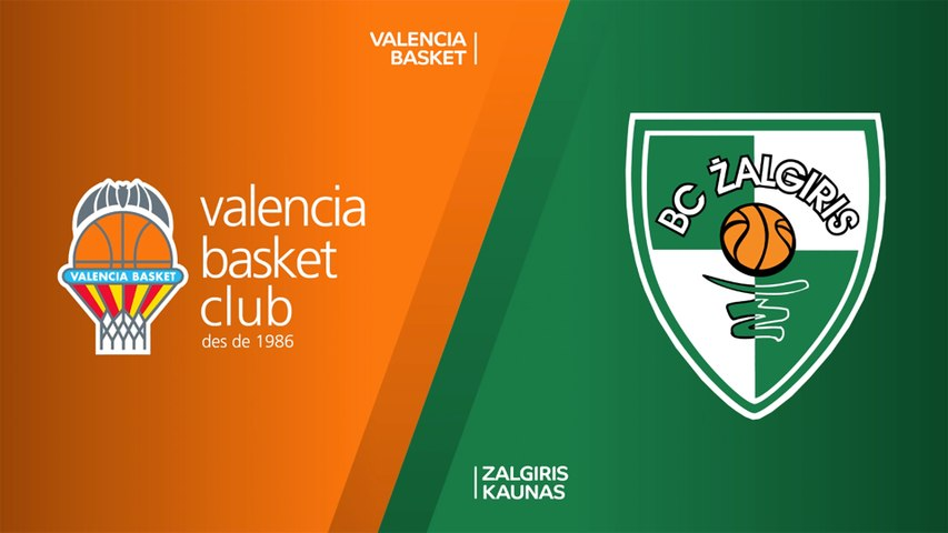 Valencia Basket - Zalgiris Kaunas Highlights | Turkish Airlines EuroLeague, RS Round 22
