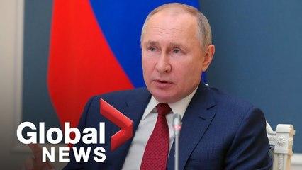 Russia's Vladimir Putin talks COVID-19, big tech during address to World Economic Forum