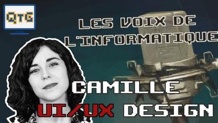 Camille – UI/UX design – Les voix de l'informatique #1