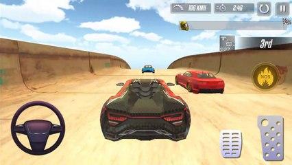 Carrera Letal en Super Rampa - Juegos de Carros
