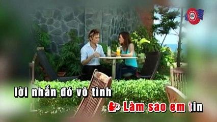 Sao Nhắn Nhầm Máy Anh ( Karaoke ) - Lâm Chấn Huy ft Vĩnh Thuyên Kim