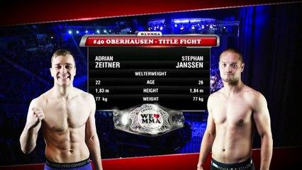 STEPHAN JANSSEN VS ADRIAN ZEITNER | MMA FIGHT FULL HD