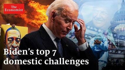 Joe Biden's top 7 domestic priorities