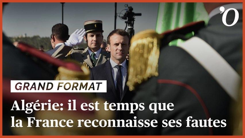 Colonisation et guerre d'Algérie: il est temps que la France reconnaisse ses fautes