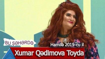 Bu Şəhərdə - Xumar Qedimova Toyda (Hamilə, 2019)