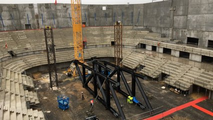 L'Arena Futuroscope prend de la hauteur