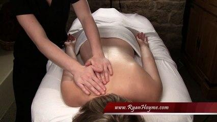 Great Back Massage Techniques - part 12 of 16