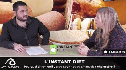 L'INSTANT DIET : Pourquoi dit-on qu'il y a du «bon» et du «mauvais» cholestérol?