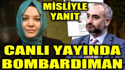 İsmail Saymaz'dan Hilal Kaplan'a canlı yayında bombardıman!