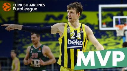MVP for January: Jan Vesely, Fenerbahce Beko Istanbul