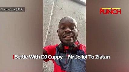 Settle With DJ Cuppy- Mr Jollof To Zlatan