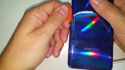Samsung A41 -Substituição e trocar tela lcd display. Desmontagem e Montagem corretas.