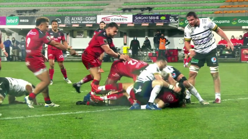 Video : Video - Résumé - CA Brive - RC Toulon - J15 Top14 2020 /2021