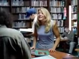 Blonde in a library - blonde,funny,humour,amusant