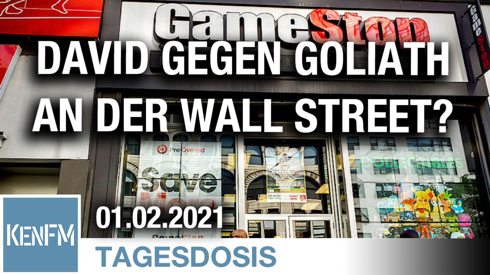 David gegen Goliath an der Wall Street?