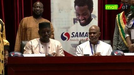Reportage - Signature de partenariat entre SAMA Money et le Conseil Supérieur de la Diaspora Malienne (CSDM)