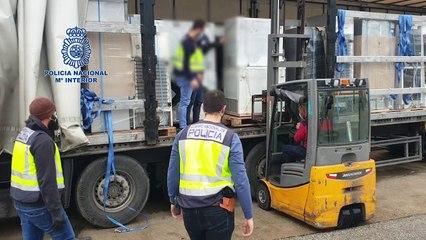 Pillan un camión en Jerez con 300 kilos de marihuana en frigoríficos