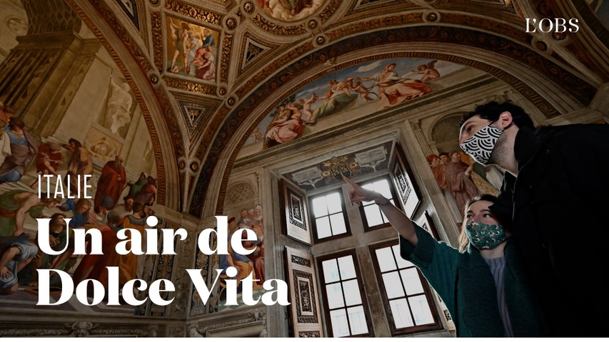 Les images de Rome après la réouverture des bars, restaurants et monuments