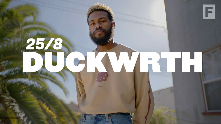Lexus and The FADER present 25/8: How Duckwrth stays in perpetual motion