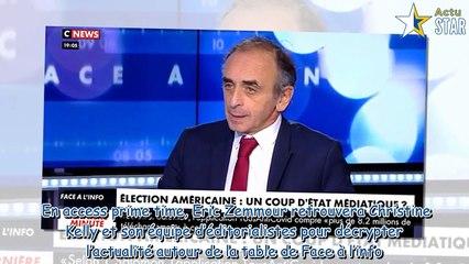 Zemmour et Naulleau évincé, Eric Zemmour privé de Face à l'info sur CNews-