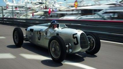 "Auto Union Type C ""Silver Arrow"" in Monaco"