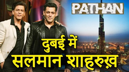 Salman Khan To Reportedly Sh00t For Action Scene In ShahRukh Khan's Pathan In UAE