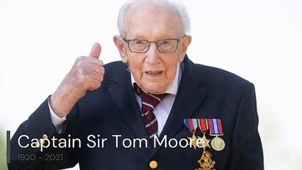 Captain Sir Tom Moore video
