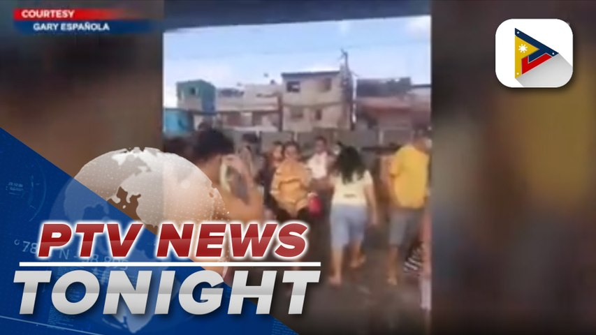 Residents forced to leave homes after ammonia leaked from ice plant in Navotas City