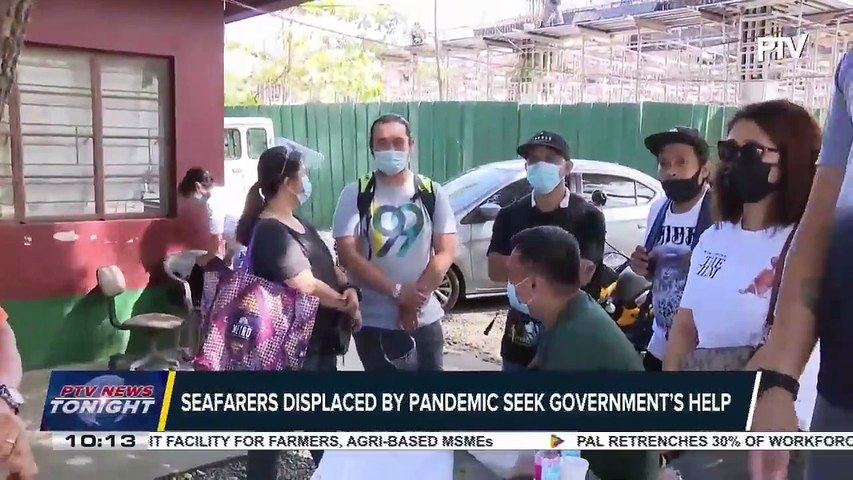 Seafarers displaced by pandemic seek government's help