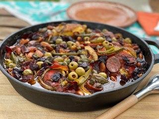 Gigote de pollo - La Cocina Mestiza - Sonia Ortiz con Sonya Santos - La influencia de España en la cocina mexicana