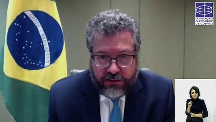 Ministro Ernesto Araújo: A segurança e a democracia na América do Sul (22/09/2020).