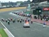 depart le mans moto gp 2007