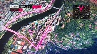 Giro d'Italia 2021 Grande Partenza   The Route   Stage 1-3