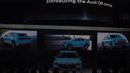 Le modèle de l'Audi Q8