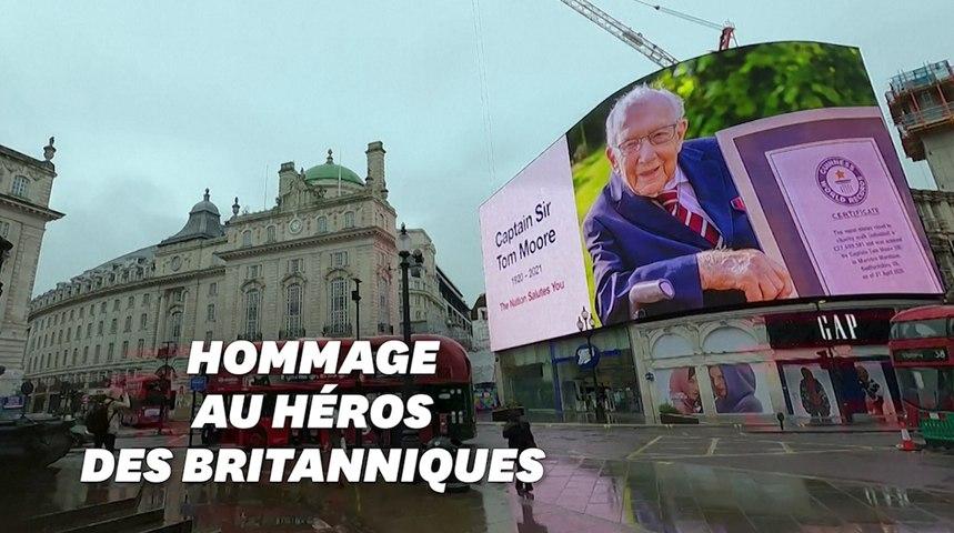 Le Royaume-Uni rend hommage à Tom Moore, mort du Covid