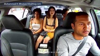 U njegov taksi ušle su TRI DJEVOJKE, no ono što je uradila crnka u sredini OSTAVIT ĆE VAS BEZ RIJEČI!