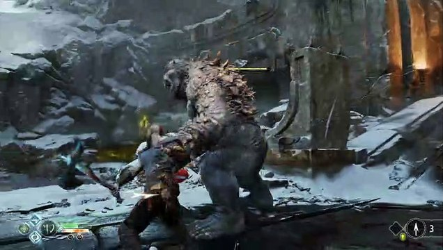 God of War Ogre Battle 4k 60fps update