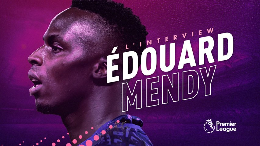 Interview d'Édouard Mendy à Chelsea