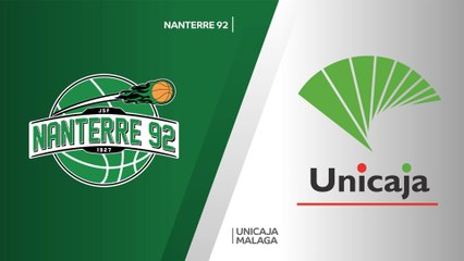 7Days EuroCup Highlights Top 16, Round 4: Nanterre 80-74 Unicaja