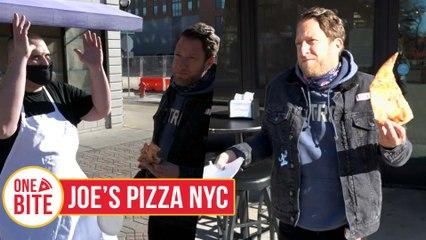 Barstool Pizza Review - Joe's Pizza NYC (Ann Arbor, MI)