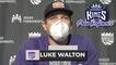 Luke Walton Pregame Interview   Celtics vs Kings